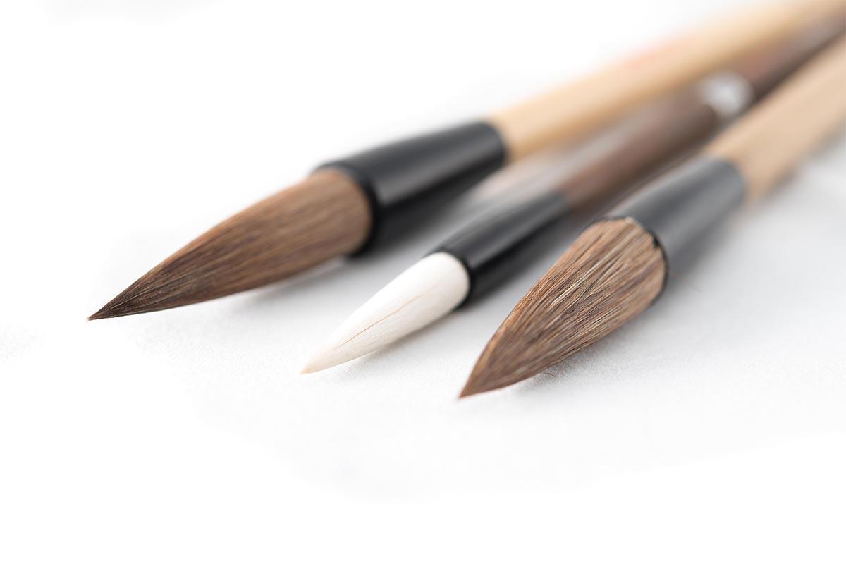 筆の種類と適切な筆の選び方   ...